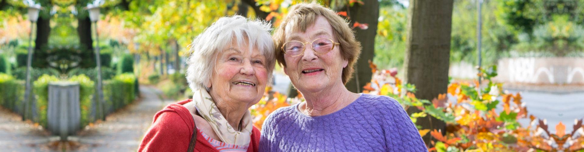 elders smiling